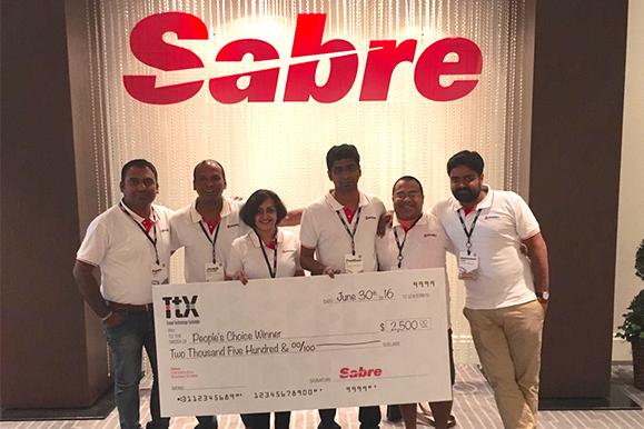 Team Mystifly winners of people's choice award at sabre Appys 2016