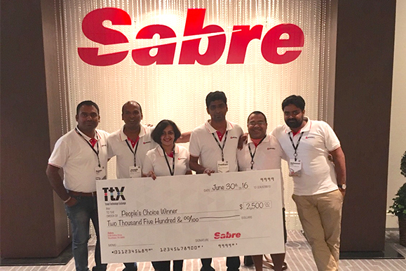 Team Mystifly winners of people's choice award at sabre Appys 2016