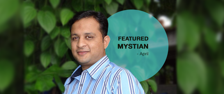 Mystifly of the Month - Nithin